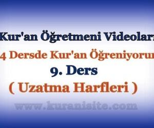 Kur'an Öğretmeni Videoları 9. DERS